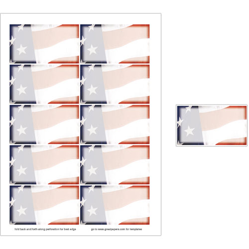 Old Glory Business Card