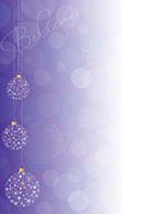 Believe Ornaments Letterhead
