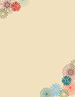 Fall Mums Letterhead 80CT