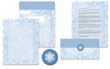 Winter Flakes Self Mailer 50