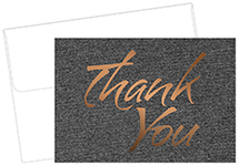 Suit Thank You Card 50Ct