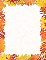 Fall Foliage Letterhead 80CT