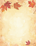 Fall Leaves Letterhead 80CT